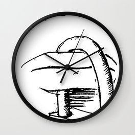 Freedom of Expression 3 of 3 Wall Clock