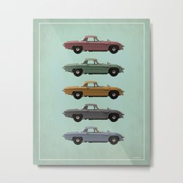 Five Mazdas Metal Print