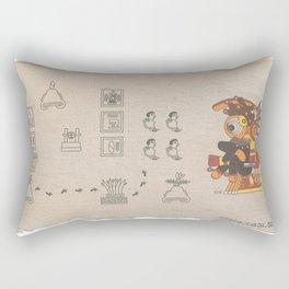 ojotéotl Rectangular Pillow