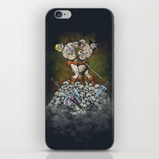 CLASH OF THE TITANS  iPhone & iPod Skin