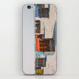 Cabines de plage 4 iPhone Skin