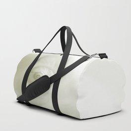 Beautiful White Shell #society #decor #buyart Duffle Bag