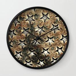 Serie Texturas - CleMpasS - Estrellas Wall Clock