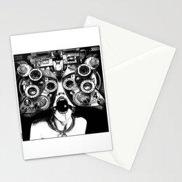 asc 712 - Le masque de la Méduse (Object woman) Stationery Cards