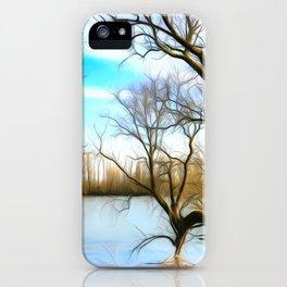 Lake Art iPhone Case