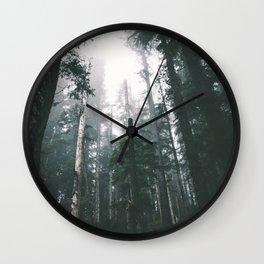 Forest XVIII Wall Clock