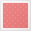 Lattice - Coral by dizanadesigns