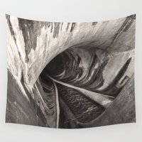 1989 Wall Tapestries featuring Dam Reticulation by Bruce Stanfield Photographer