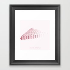 Variation Number 12 (sketch) Framed Art Print