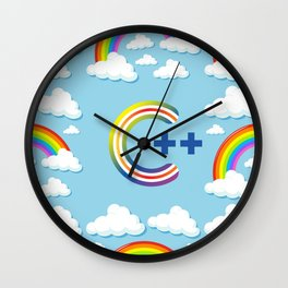 C++ PROGRAMMING, FOR COMPUTER CODING / DEVELOPERS Wall Clock