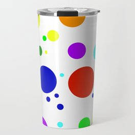 Rounded Buttons Travel Mug