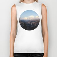 yosemite Biker Tanks featuring Yosemite by Leah Flores