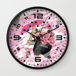 Fashion Paris #1 Wall Clock