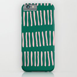 Spring Line Up No 02 iPhone Case