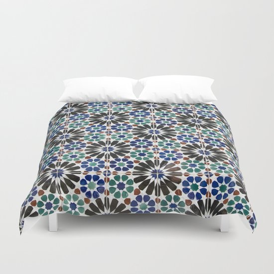 Azulejos Lisbon Portugal 4 Duvet Cover