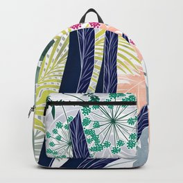 Hot tropics. Backpack