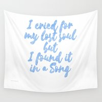 I cried Wall Tapestry