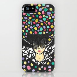 LADY NINE iPhone Case