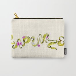 Rapunzel's Tangled Goldlocks Lettering  Carry-All Pouch