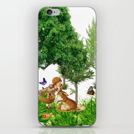 It's Easter Time Mr. Bunny iPhone Skin