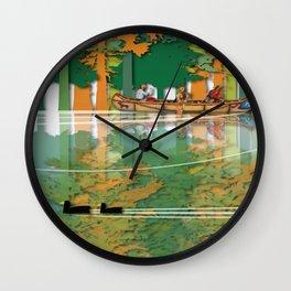 Land Of The American Natives No. 4 Wall Clock