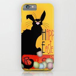 Le Chat Noir - Easter iPhone Case