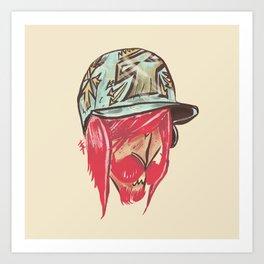 Redd - Phantom Borough Sluggers Art Print