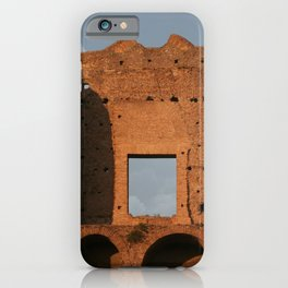 Windows and Clouds Palatine Ruins Rome iPhone Case