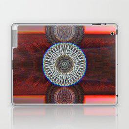Three Mandalas Laptop & iPad Skin