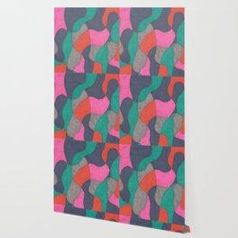 Interlocking Colors Wallpaper
