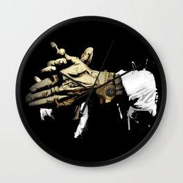 Las manos del Camarón Wall Clock