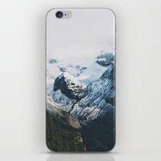Mount Rainier Winter Valley iPhone & iPod Skin