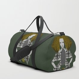 Yellow Duffle Bag