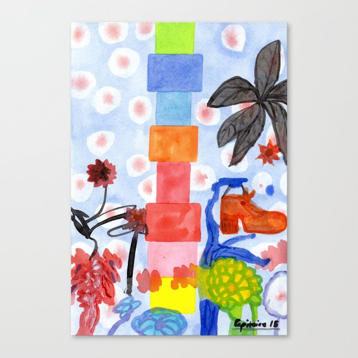 Shoe Tree Canvas Print