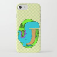 dino iPhone & iPod Cases featuring Dino by R.E.L