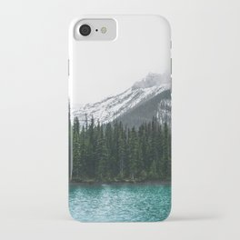 Forest   Maligne Lake Photography   Alberta   Mountains  iPhone Case