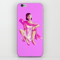 fight iPhone & iPod Skins featuring Fight by marsdotnet