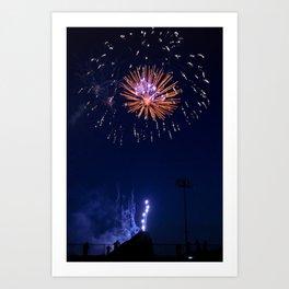 Fireworks #2 Art Print