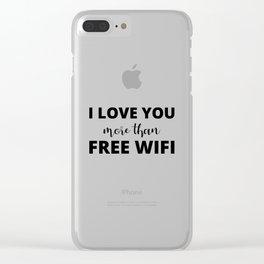 The True Love Clear iPhone Case