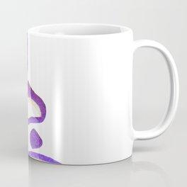 Purple Stacked Stones 1 Coffee Mug