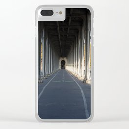 Pont de Bir-Hakeim (That Place From Inception) Clear iPhone Case