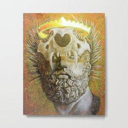"""The Protector"" Metal Print"