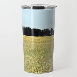 wheat field Travel Mug