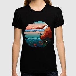 Winter fishing T-shirt