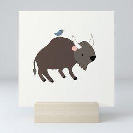 Buffalo Rose Mini Art Print
