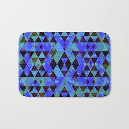 Pretty pattern blue Bath Mat