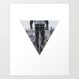 Photographic Path - Geometric Photography Art Print