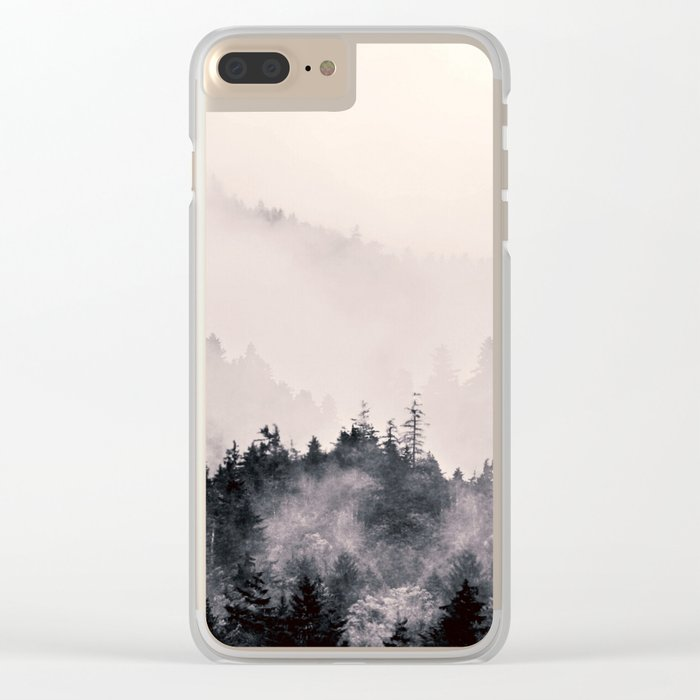 I fall behind Clear iPhone Case