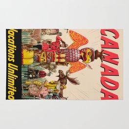 Vintage poster - Canada Rug