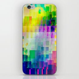 Exploded Spectrum iPhone Skin